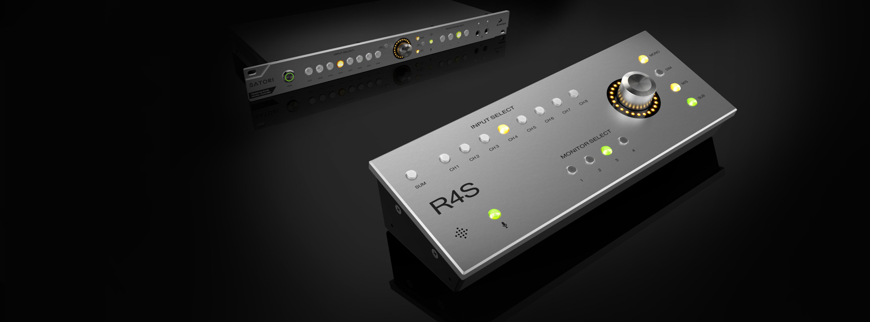Antelope Audio Launches R4S Remote Control for Satori at Summer NAMM, Delivering Flexible Source and Monitor Switching in the Studio