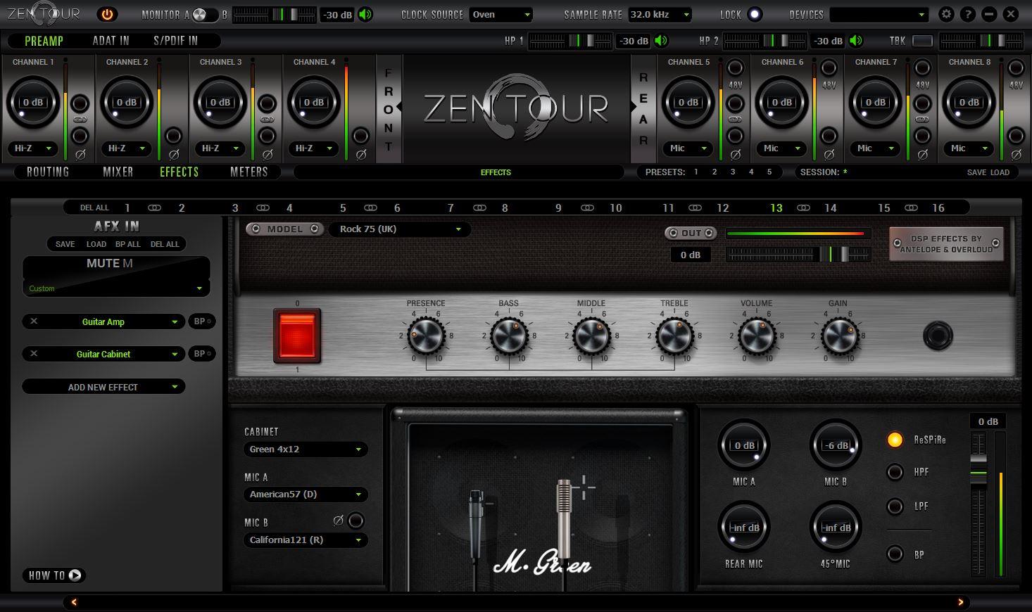 Antelope Audio Zen Tour Channel Interface Reviews