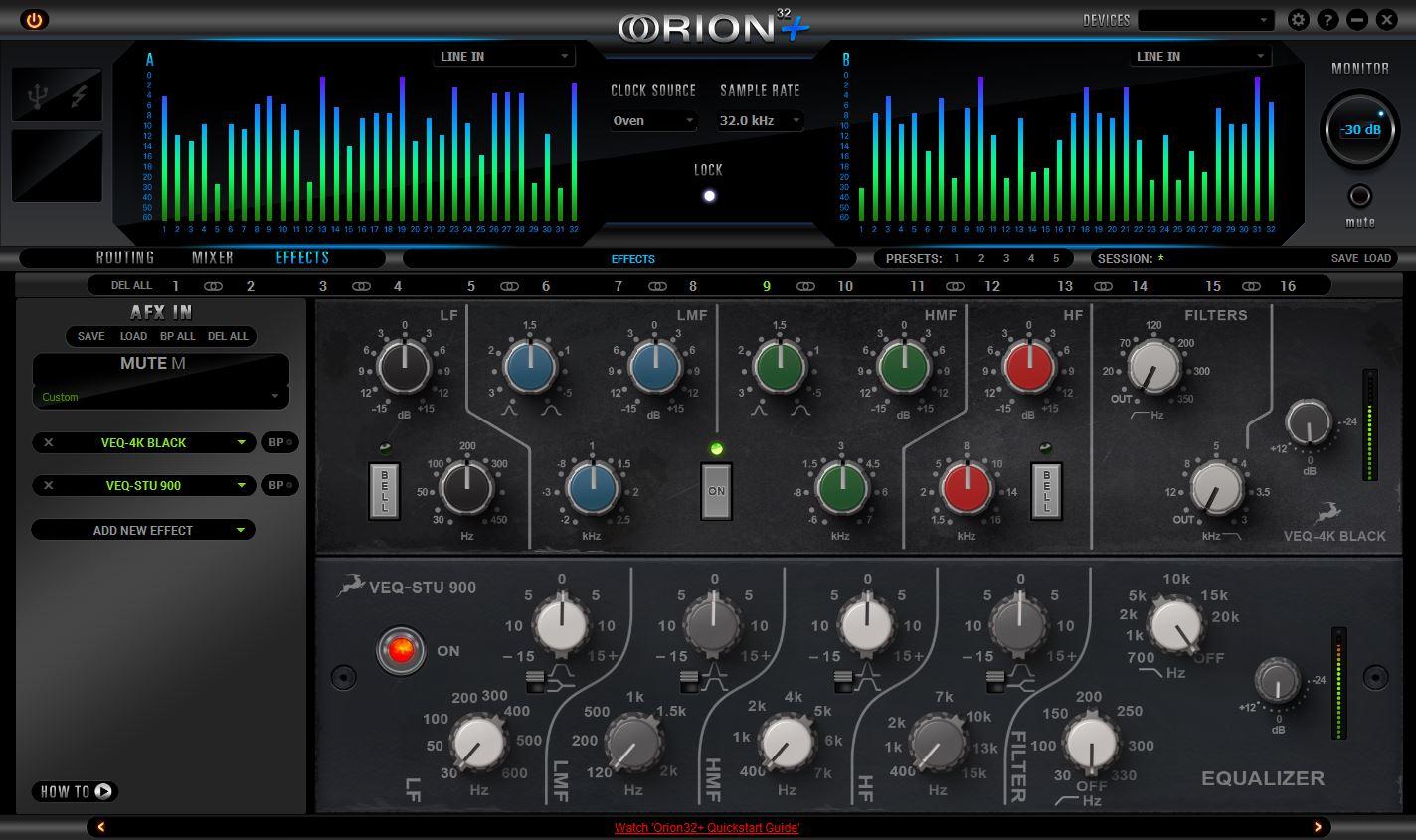 Orion 32+ 32-channel AD/DA converter | Antelope Audio