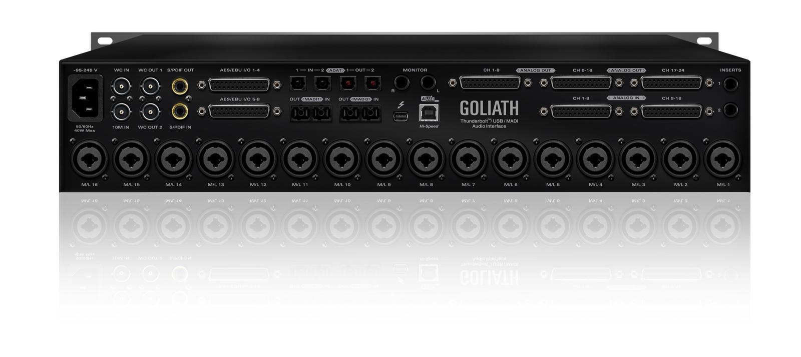 Cherry Master Wiring Diagram Switch Diagrams Lighting Goliath Thunderbolt Usb Madi Audio Interface Antelope On