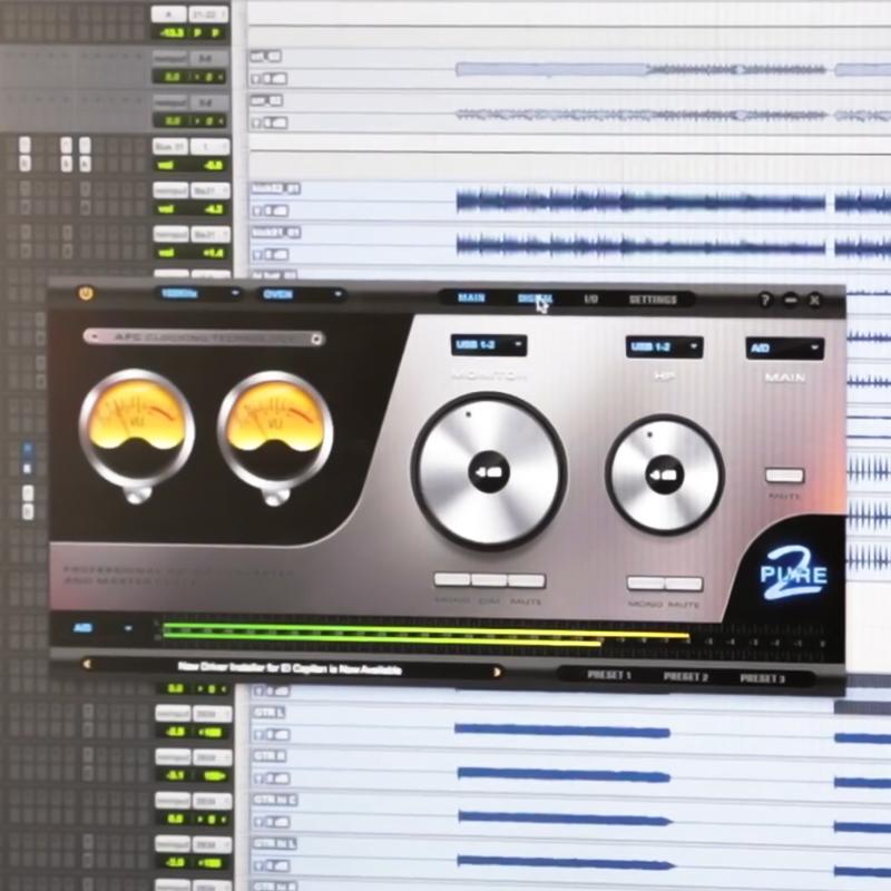 Pure 2 Mastering AD/DA Converter & Clock   Antelope Audio