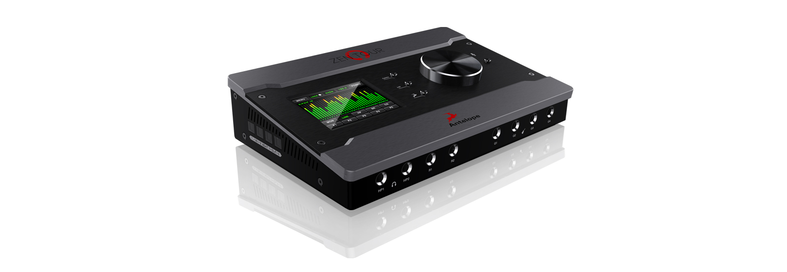 Zen Tour A King Among Portable Interfaces Antelope Audio Schematic For Headphone Amplifier One Channel Two Independent Amps Separate Pairs Of Monitor Outs Plus The Fpga Powered Thunderbolt Custom Usb Make Lightning Fast And