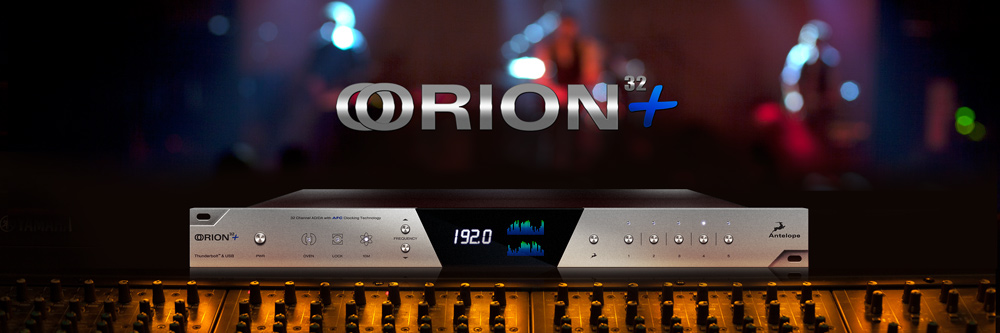 Orion 32+ - The world's first 32-channel AD/DA converter
