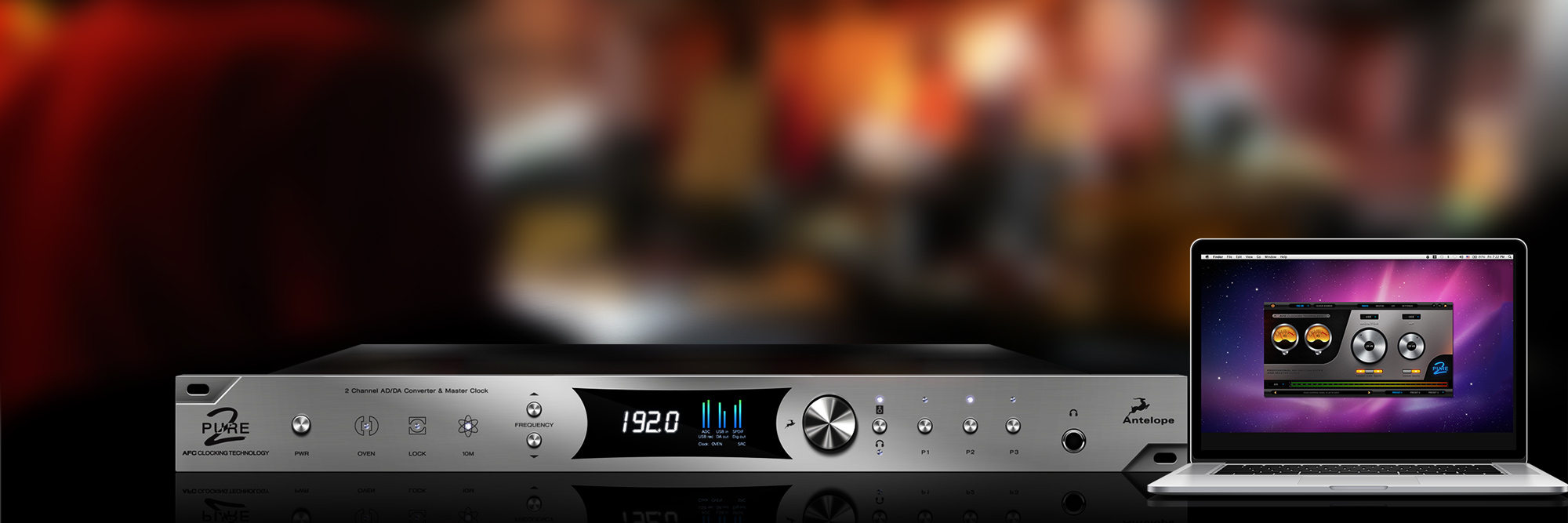 Introducing the Pure2 by Antelope Audio: A Two Channel Mastering Converter from the Authority in Clocking