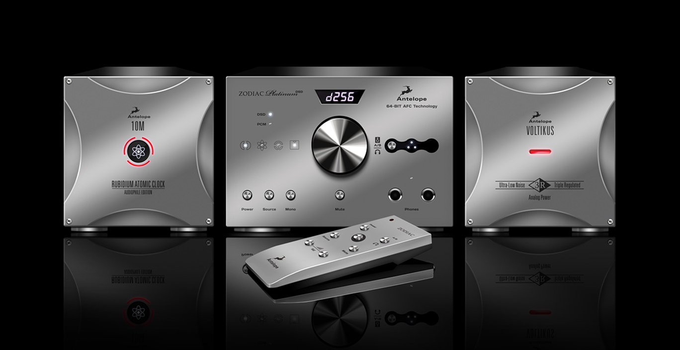 Antelope Audio Unveils Zodiac Platinum – a 384 kHz DSD DAC That Raises the Gold Standard in D/A Conversion