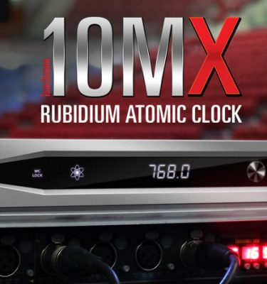 10MX - The newest member of the Antelope Audio Rubidium Atomic Clocks family