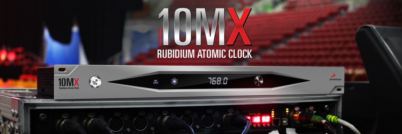 10MX - The newest member of the Antelope Audio Rubidium Atomic Clocks family