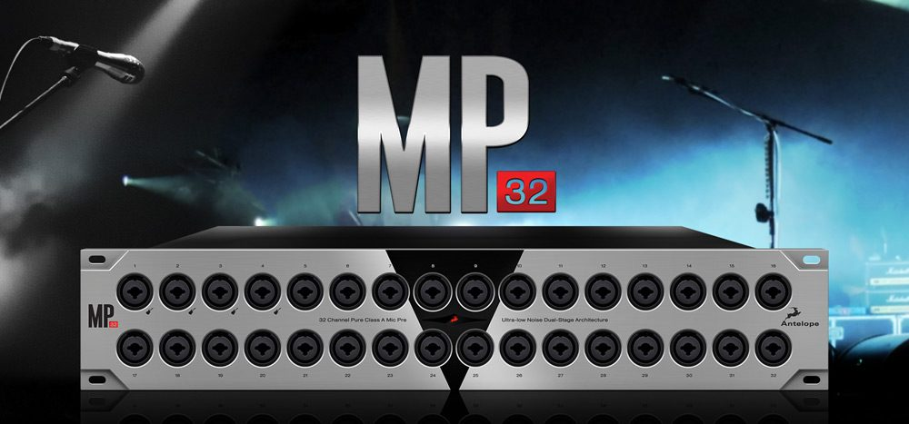 MP32 - 32-channel Microphone Preamp