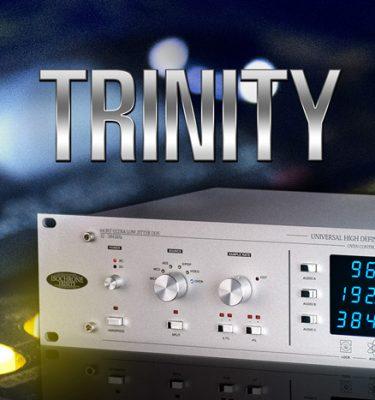Trinity - The legendary 384 kHz HD Master Clock