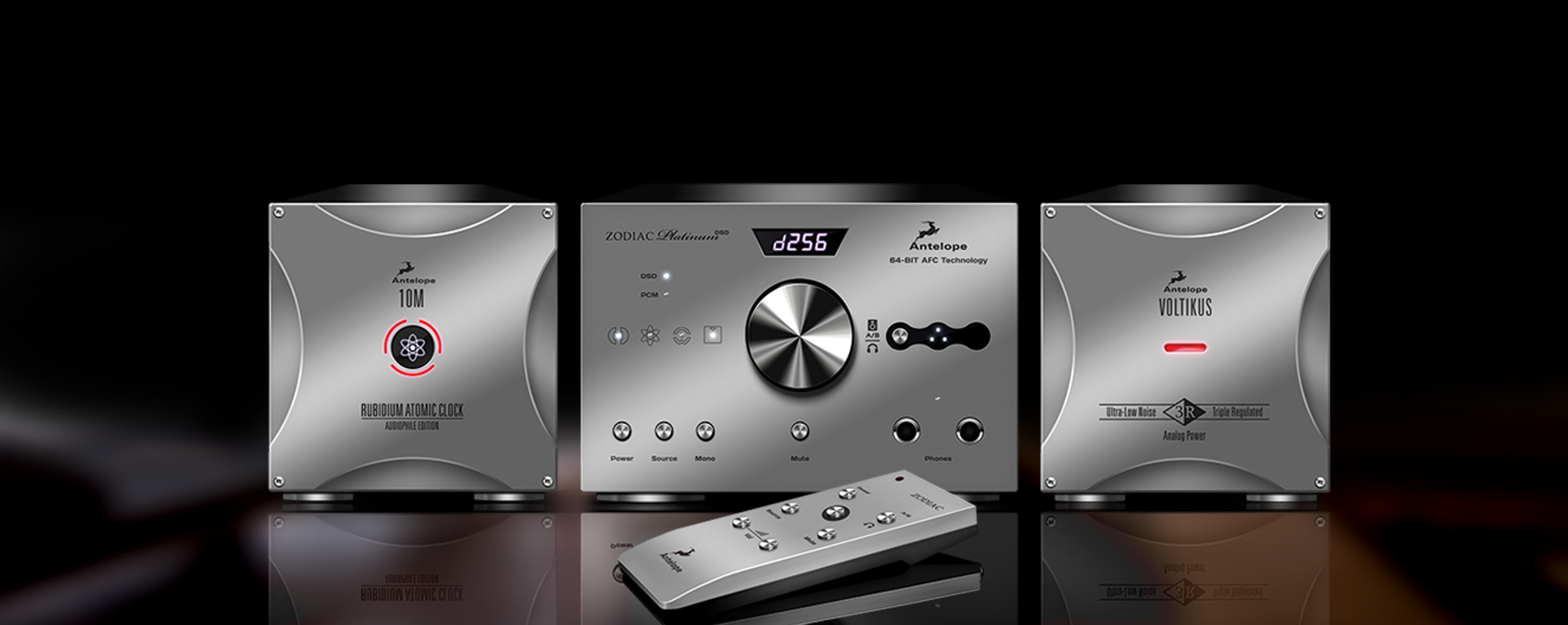 Antelope Audio to Demonstrate New Zodiac Platinum DSD DAC and Rubicon AD/DA Preamplifier at CES International 2014