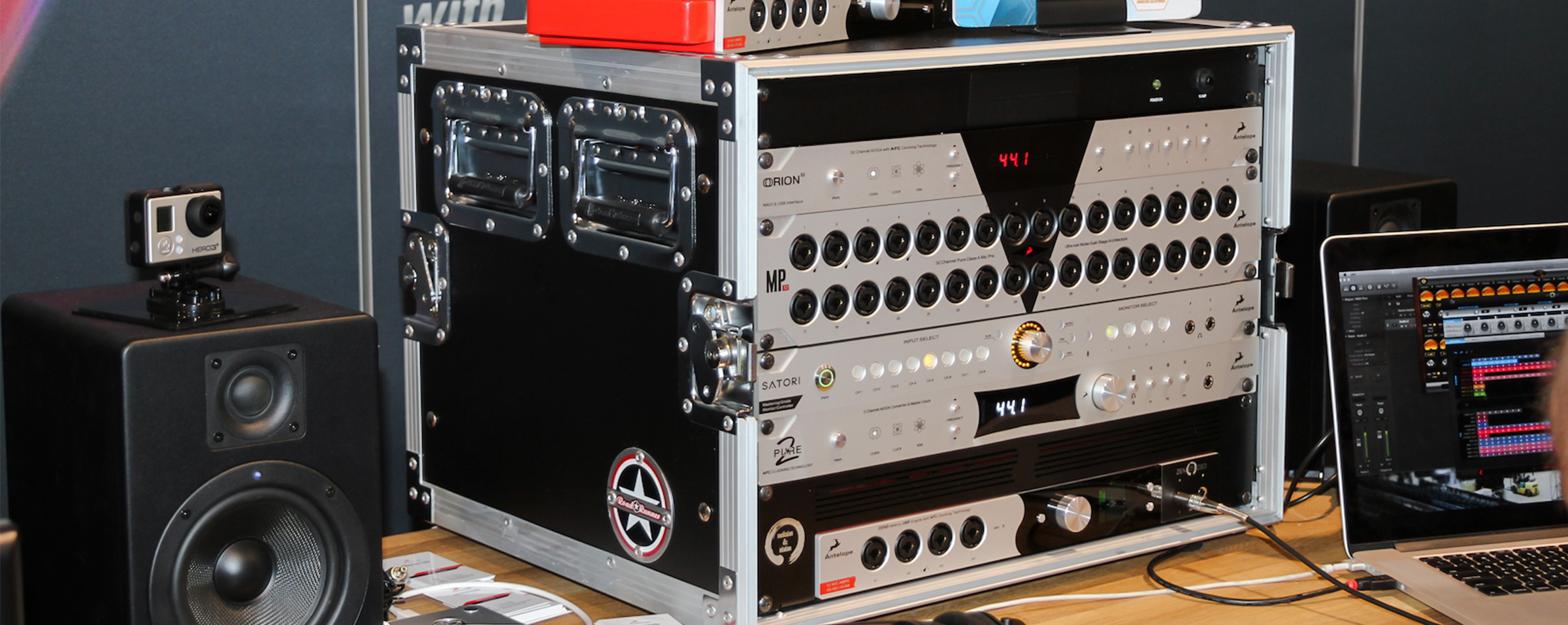 Orion 32 the world's first 32-channel AD/DA converter
