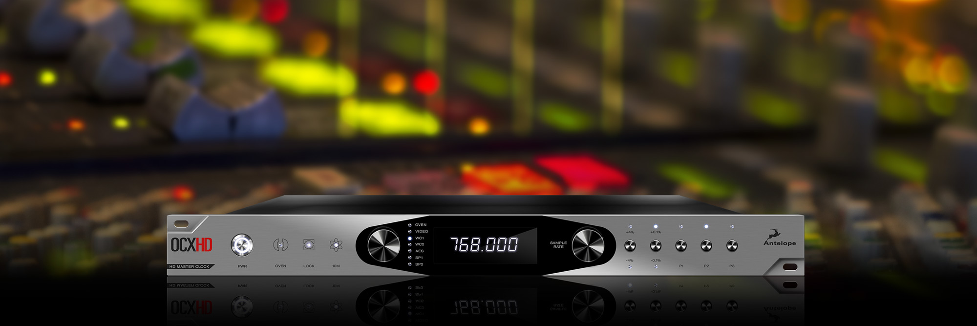 The New OCX HD Master Clock from Antelope Audio: The Culmination of Two Decades of Leadership in Digital Audio Technologies