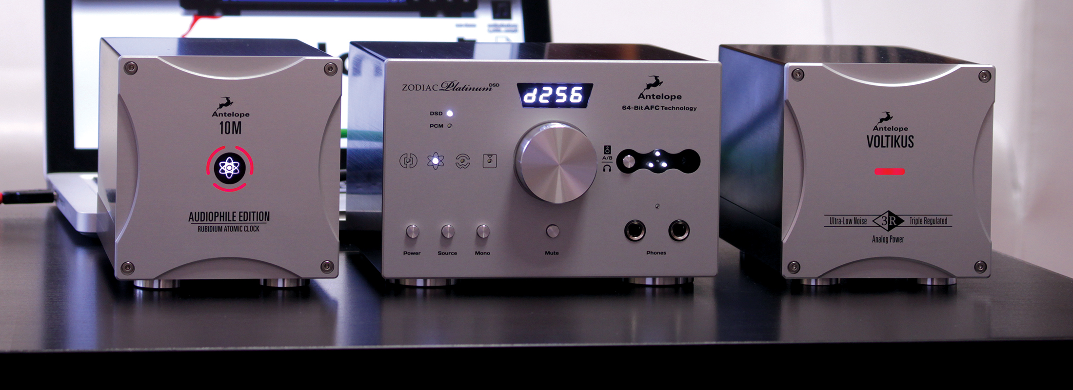 New for CES: The Antelope Audio Zodiac Platinum DSD DAC and Audiophile 10M Atomic Clock Combination Takes Your Listening Room to New Sensory Heights