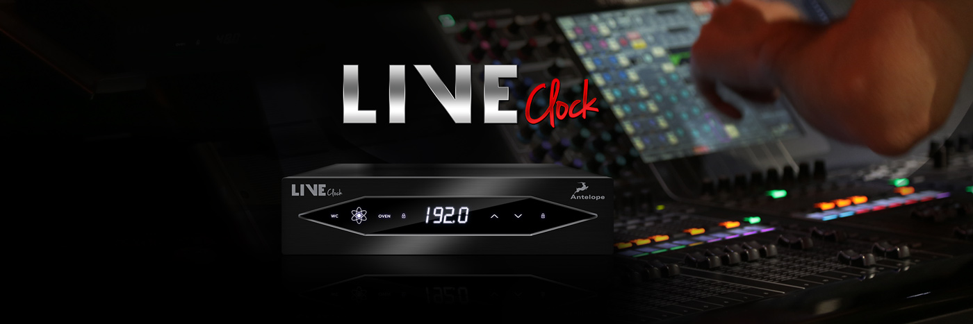 LIVE CLOCK - portable audio master clock