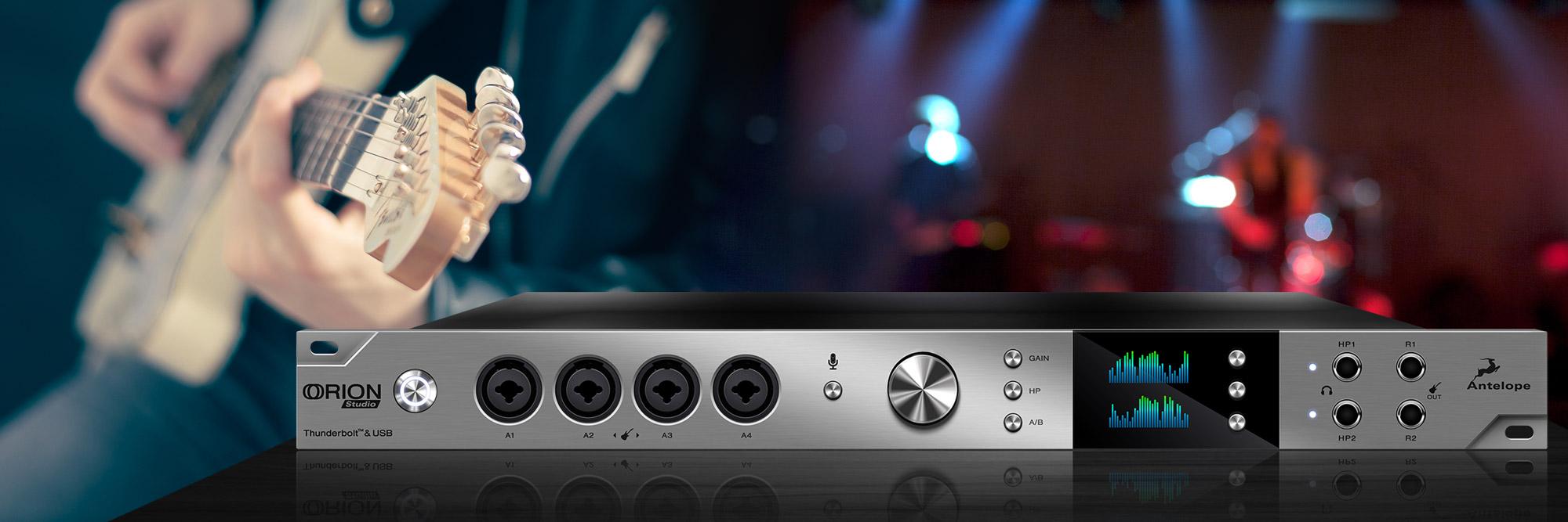 Antelope Audio's New Orion Studio
