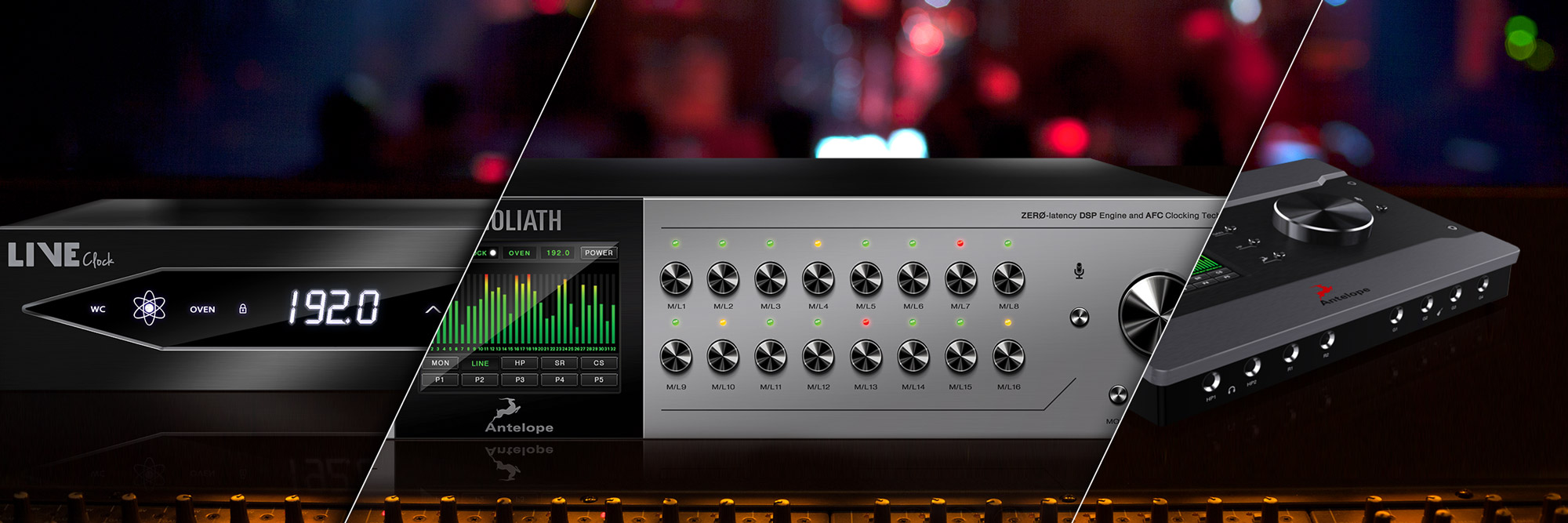 Musikmesse 2016: Antelope Audio Introduces its Most Powerful, Impressive Sounding and Versatile Audio Interface – Goliath