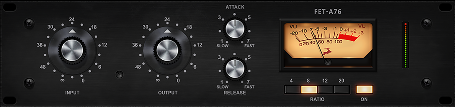FET-A76 hardware-based EQ effect