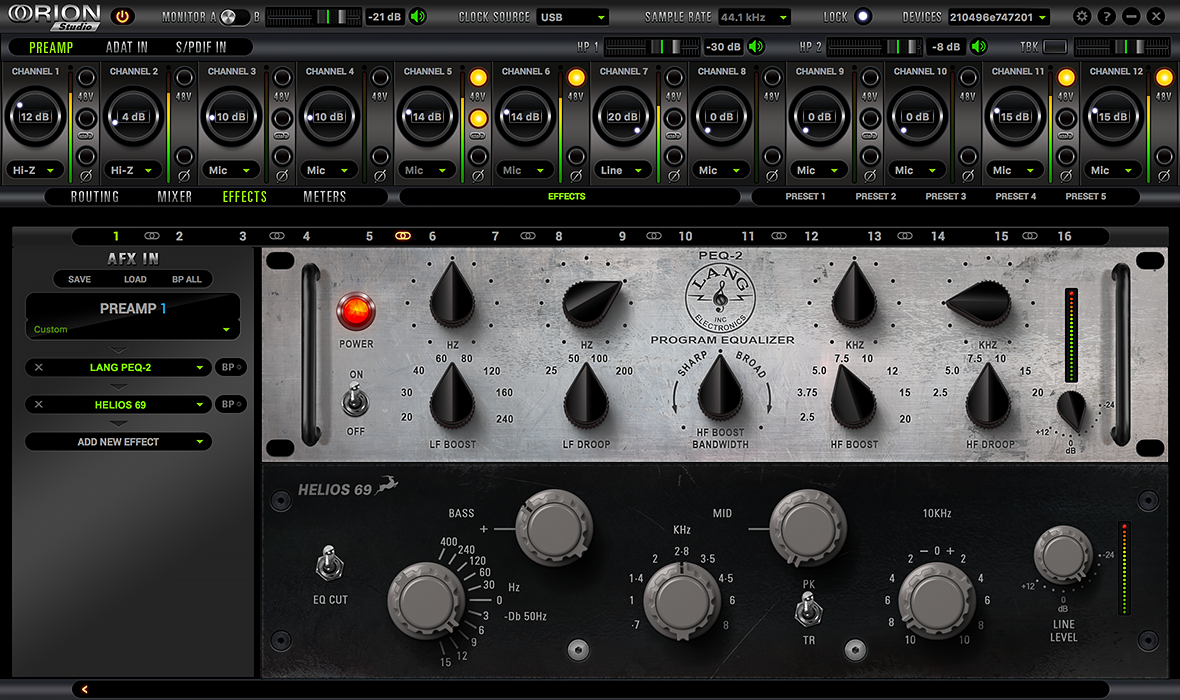Antelope Audio Brings World-Famous Hardware-Based FET Compressor to Its Thunderbolt Interfaces, While Adding Several Classic EQs