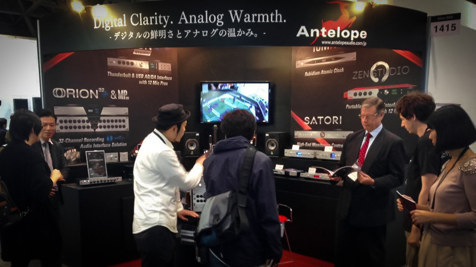 Meet Antelope Audio in Tokyo during InterBee 2016