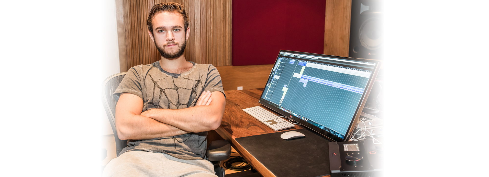 Award-Winning Producer, DJ, and Musician Zedd Keeps the Hits Coming with Antelope Audio