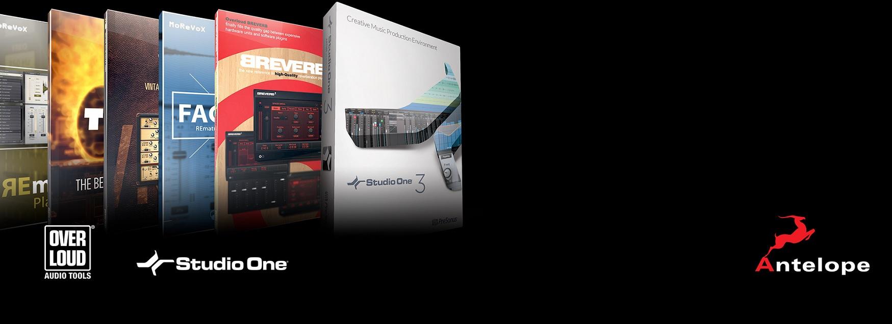 Todas las interfaces de audio de Antelope ahora vienen con una edición gratuita de Synergy Bundle