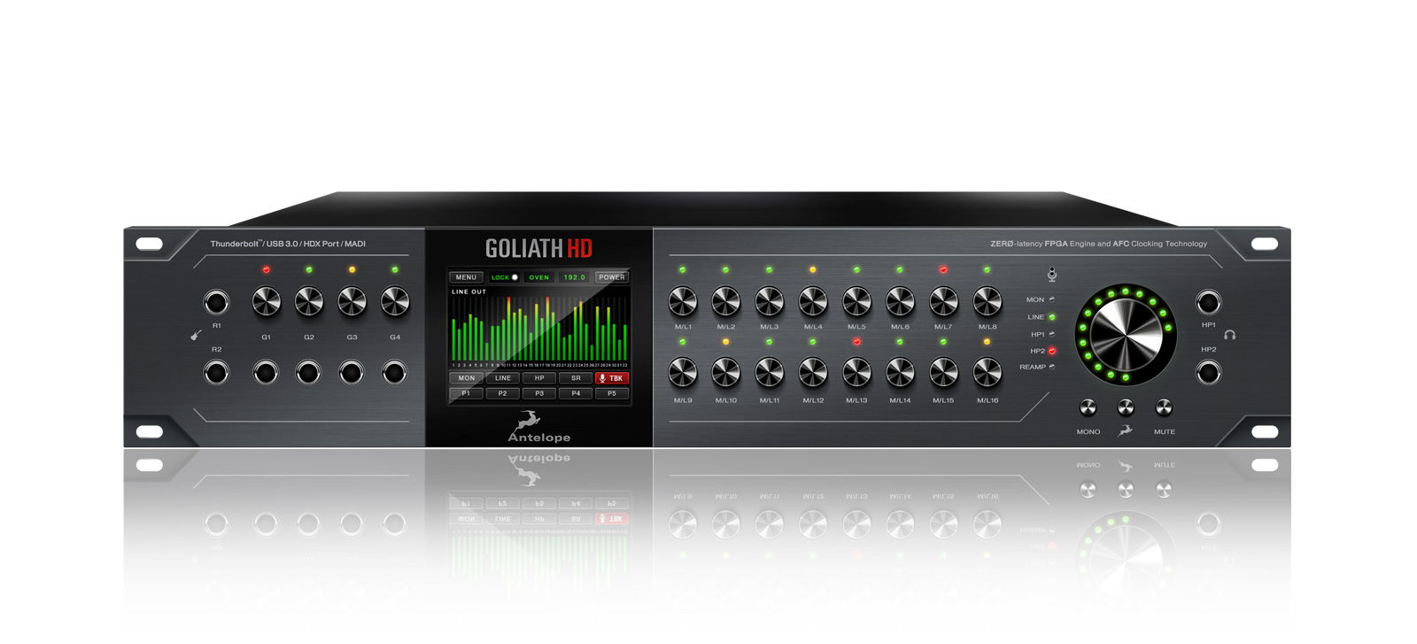 Goliath Hd Pro Tools Native Ready Antelope Audio Highdefinition Multimedia Interface Connector Diagram The Dedicated Android Ios Compatible Mobile App Will Allow You To Turn Your Smartphone Or Tablet Into A Powerful Remote