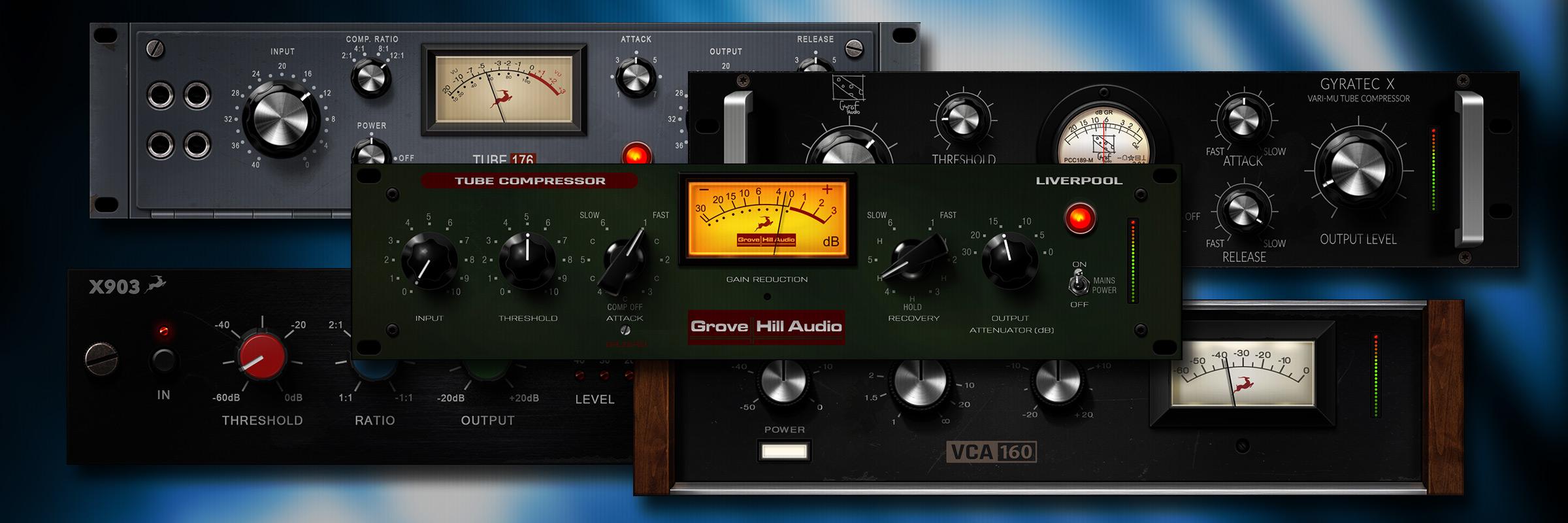 Fünf neue Vintage-Kompressoreffekte, die Sie nur bei Antelope Audio bekommen