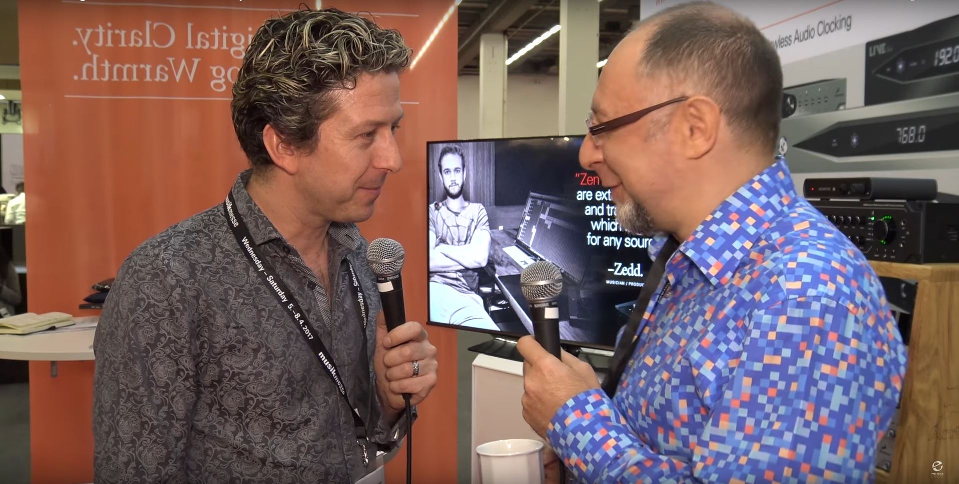 James Ivy from Pro Tools Expert talks with Antelope Audio's owner and Chief Designer, Igor Levin