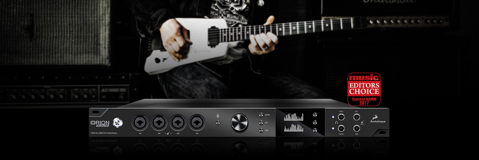 Antelope Audio announces Orion Studio HD Interface during AES Berlin 2017