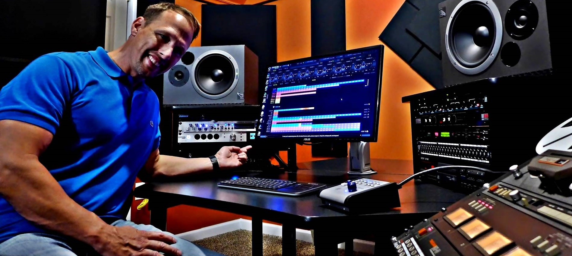 """My new Orion Studio is installed, all I can say is Wow!!"" – The Upper Room Studios"