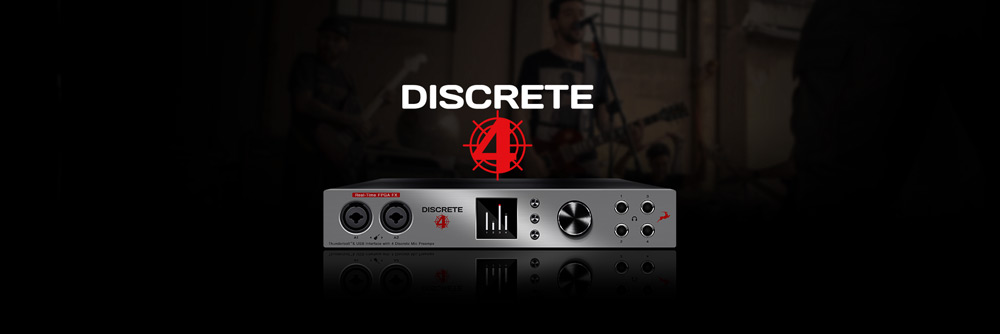 Discrete 4 Microphone Preamp Interface | Antelope Audio