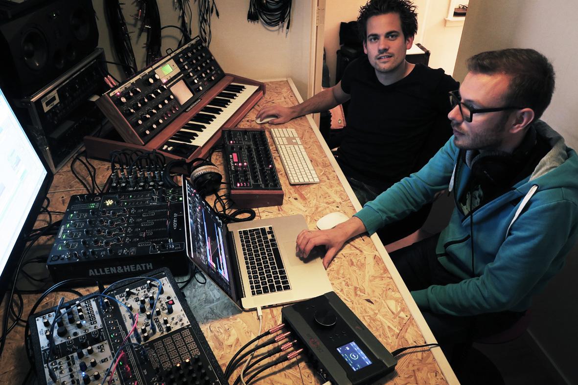 """Pan"",  Atarium's second number, has been produced using the Antelope Zen Tour"