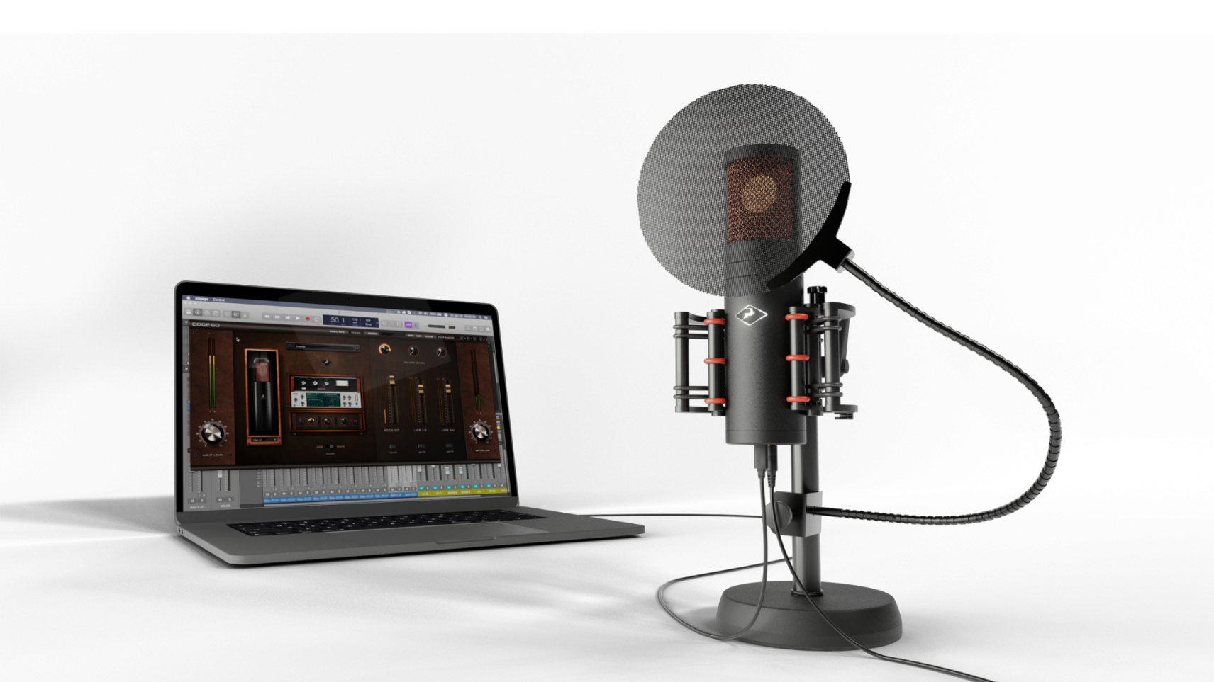 Antelope Audio announces availability of world's first bus-powered modeling microphone as Edge Go globally ships