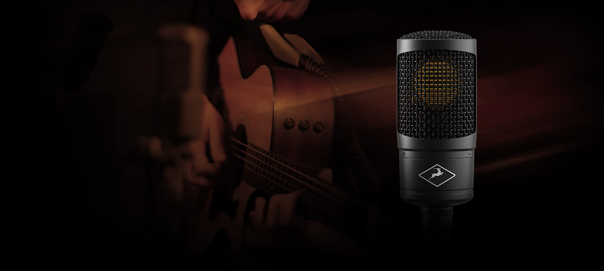 Recording Acoustic Guitars with Edge Solo Modeling Mic