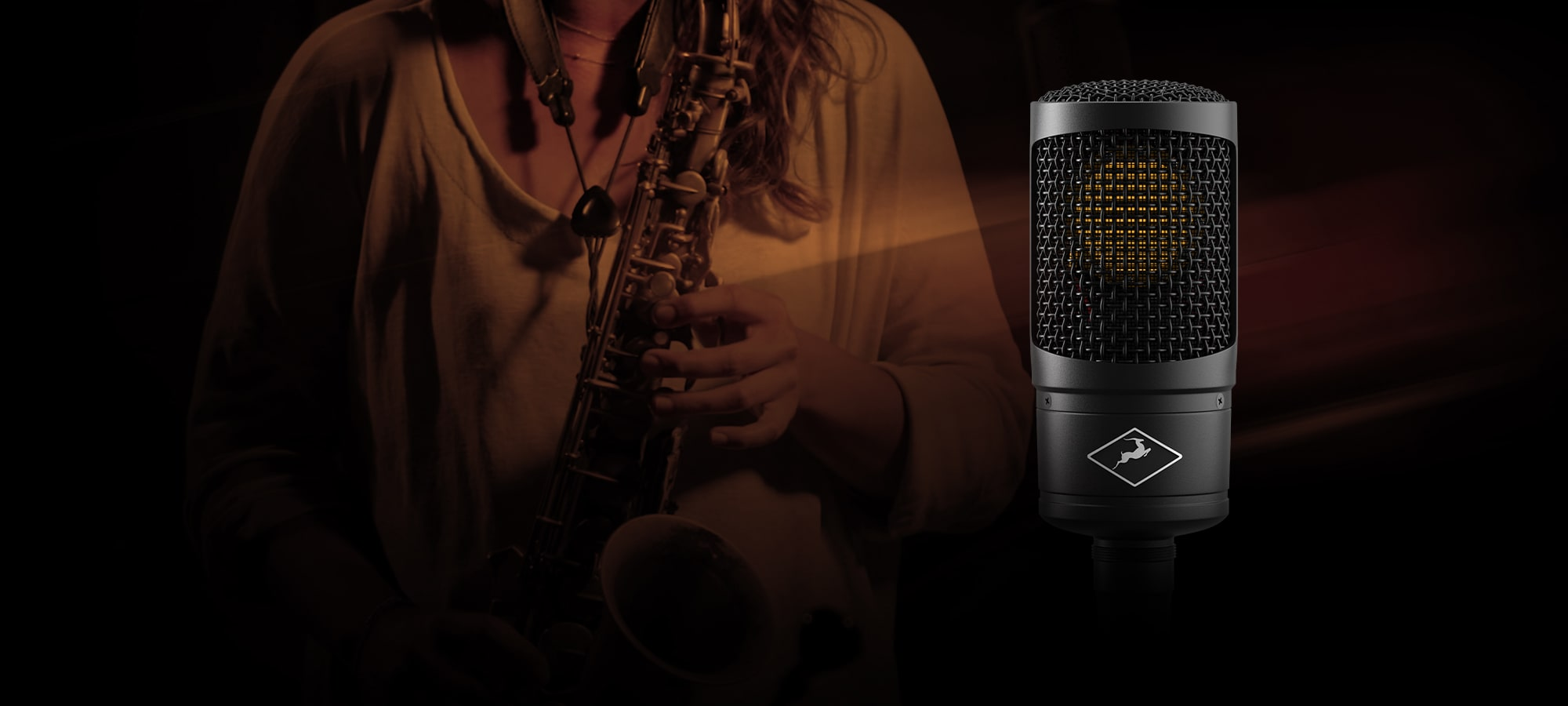 Recording Saxophone with Edge Solo Modeling Mic