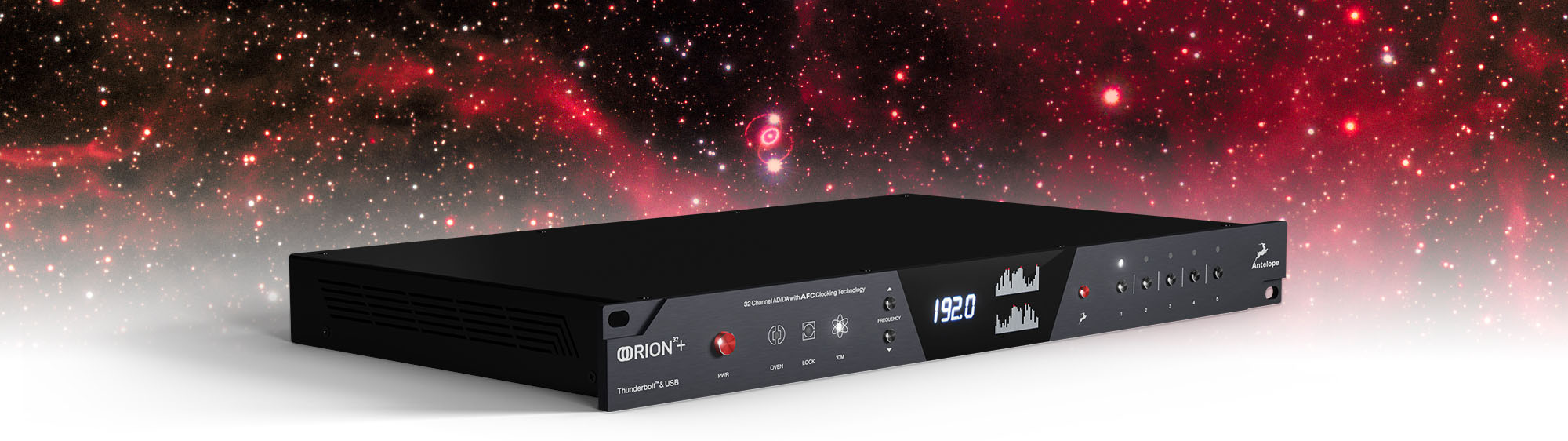 Antelope Audio announces availability of Orion 32+ | Gen 3 innovative interface and cutting-edge AD/DA converter