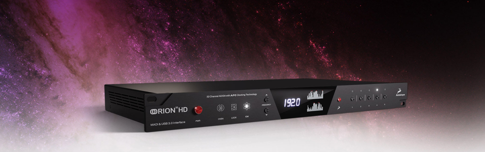 Antelope Audio ships Orion 32HD | Gen 3 audio interface with industry-leading AD/DA and comprehensive connectivity