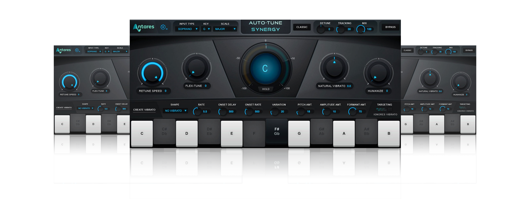 Auto Tune Synergy interface