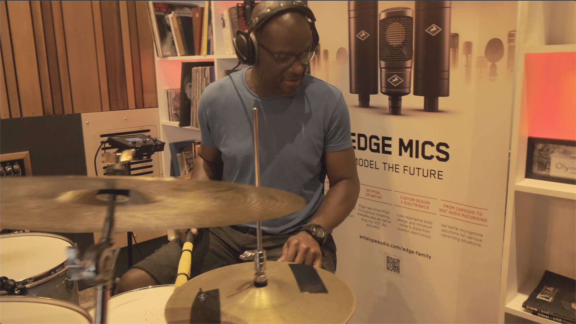 """Drummers' Special: A Hard-hitting Session at """"The Friary Studios"""""""