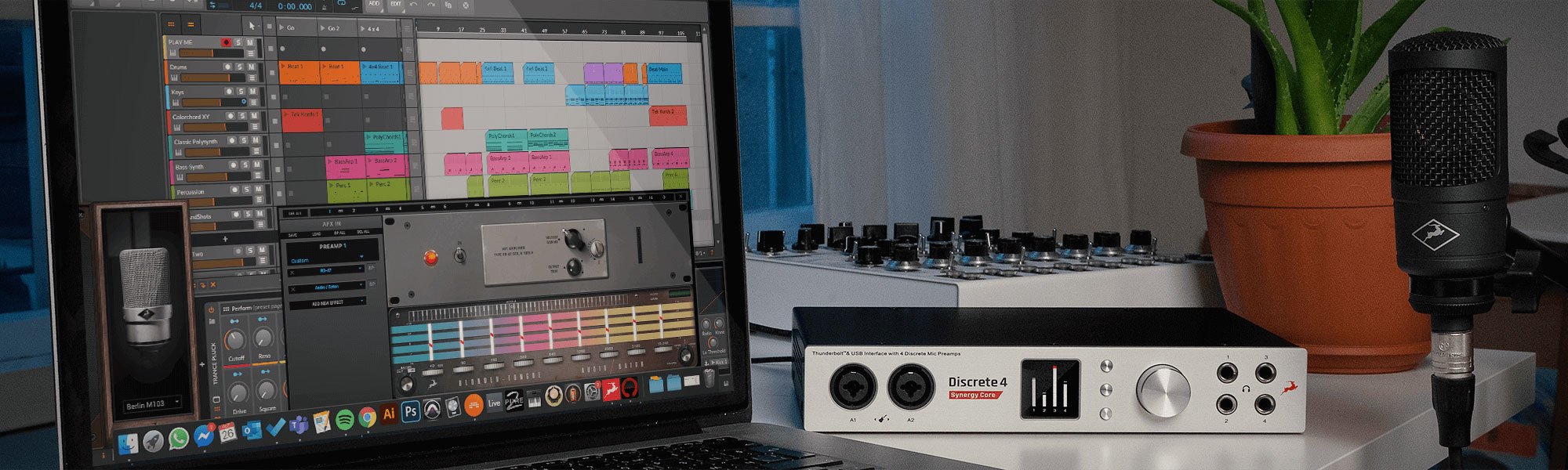 How to Record at Home, Multitrack and Stream with a Desktop Audio Interface