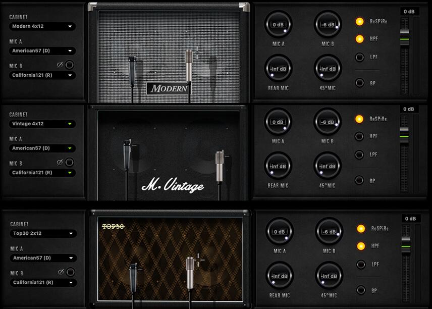 SC FX Guitar Cabs
