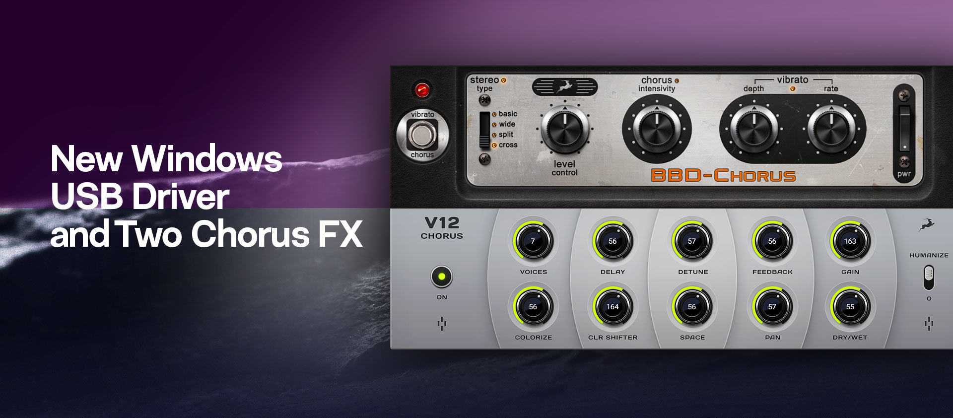 Two new chorus FX mail 1